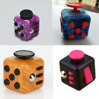 Magic Fidget Cube 6 Sides Anxiety Stress Relief Focus Funny Toy Relief Gifts