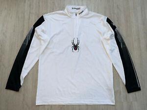 SPYDER Skishirt Langlauf Sweatshirt Jacke Ski Second Layer Shirt Wear Jersey XL
