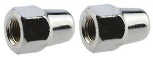 2 Piece Shimano Cap Nuts M9 Nut Nuts for Hub Dynamo Front Wheel Solid Axle