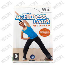 My Fitness Coach: Get In Shape for Wii Cardio & Yoga *1ST CLASS POST