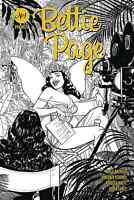 BETTIE PAGE #1 1:25 YOON B/&W VARIANT 7//15//20 FREE SHIPPING AVAILABLE
