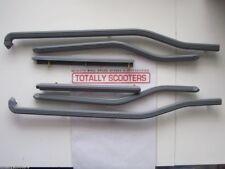CASA LAMBRETTA S3 LI or SX GREY PLASTIC FLOOR RUNNERS SET OF 6 + FIXINGS