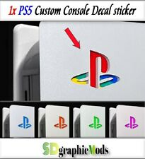 PS5 console logo vinyl decal sticker, high quality