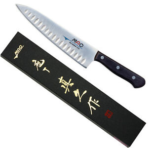 """Japanese MAC Knife TH-80 Chef Series 8"""" Blade Knife w/ Dimples Made in Japan"""