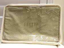 "FRETTE ITALY Decorative Pillowcase 1x Lux Jackson Golden Beige 20x20"" NEW$200"