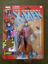 "MARVEL LEGENDS RETRO VINTAGE CLASSIC UNCANNY X-MEN GAMBIT 6"" FIGURE IN HAND NEW"