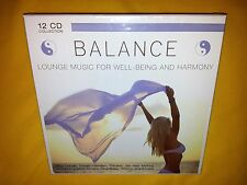 Balance Lounge Music for Well-Being and Harmony - 12 CD Set *NEW*