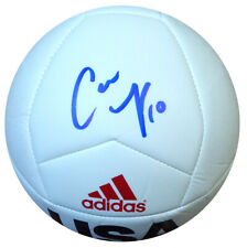 CARLI LLOYD AUTOGRAPHED SIGNED ADIDAS SOCCER BALL TEAM USA PSA/DNA 104781