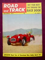 R&T11/1953 Allard Story Bugatti Sucht 57 SC Technik Siata V8 Spyder Vignale Fiat