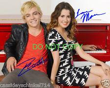 "Austin & Ally Disney Laura Marano & Ross Lynch 8x10"" reprint Signed Photo #1 RP"