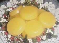 24 FRESHLY SLICED LEMON Wax Tarts Candle Wax Melts Handmade Scented Wax WAFERS