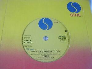 "TELEX - ROCK AROUND THE CLOCK - SIRE 7"""