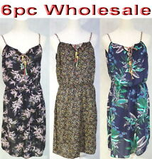 d65366a89d 6pc Wholesale Women Ladies Summer Beach Casual Dress Free Size Mixed