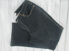 Women's COLDWATER CREEK Black Stretch Denim Jeans, Sz 14 Petite