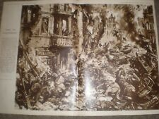WWII Russia The Epic of Stalingrad by Terence Cuneo 1942 print Ref AQ