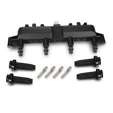Ignition Coil Rail Pack For Peugeot 106 206 306 307 1007 Black Plug # 96358649