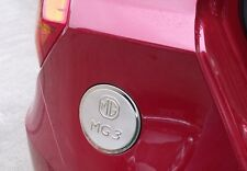 MG3 FUEL TANK COVER CAP STAINLESS STEEL FITS ALL MG 3 CAR - GENUINE UK COMPANY