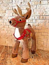 Hallmark: Polar Express REINDEER Plush Toy, Stuffed Animal