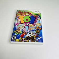 New Listing101-in-1 Party Megamix (Nintendo Wii, 2009) Complete Tested Works