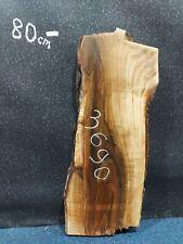 Walnut Slab Board Kiln Dried Solid Waney Edge Live Edge 790 x 250-310 x 50mm