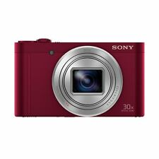 Sony DSC-WX500 RED Digital Compact High Zoom Travel Camera