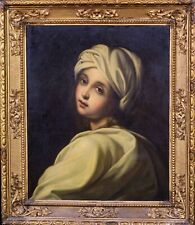 Large 17th Century Italian Old Master Portrait Of A Lady GUIDO RENI (1575-1642)