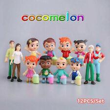 12Pcs/Set Cocomelon Family & Friends Action Figure Toys Kid Gift Doll Decoration