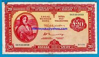 Rare Irish Banknotes LADY HAZEL LAVERY £1 - £100 - Investment Banknotes