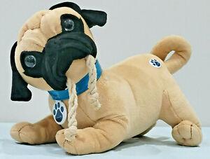 Nintendog Tug & Play Interactive Plush Pug Puppy Dog 2006 Life-like, By Nintendo