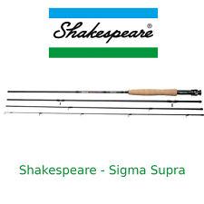 Canna da pesca da viaggio a mosca in carbonio Shakespeare SIGMA trota torrente