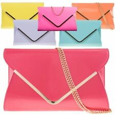 Magnetic Snap Faux Leather Outer Handbags Evening Bags