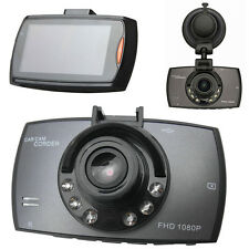 "HD 2.4"" LCD 1080P Car DVR Vehicle Camera Video Recorder Dash Cam Night Vision #W"
