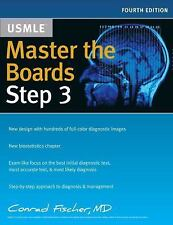 MASTER THE BOARDS USMLE STEP 3 - FISCHER, CONRAD, M.D. - NEW PAPERBACK BOOK