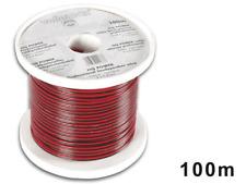 Câble Haut Parleur Couleur Rouge Noir 2 x 1 mm² Longueur 100 Métres