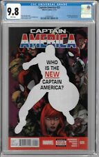 Captain America # 25 CGC 9.8 WP Sam Wilson becomes the new Captain America