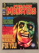 Freaky Monsters Magazine #1 First Printing NO BARCODE