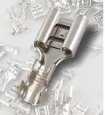 Kabelschuhe Flachstecker Crimp Stecker Auto, aus Messing 2,8 4,8 6,3 unisoliert