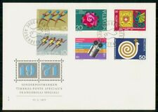 MayfairStamps Switzerland 1971 International Exhibition First Day Cover WWF56389