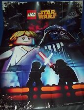 LEGO STAR WARS 2016 Poster ~ LUKE & DARTH VADER - NEW