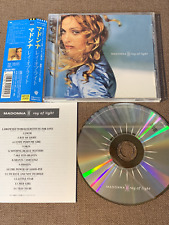 Promo MADONNA Ray Of Light JAPAN CD WPCR-2000 w/OBI+BOOKLET 1998 1st issue
