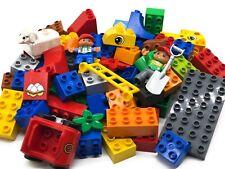 Lego Duplo Konvolut gereinigt Steine, Figuren, Fahrzeuge 1KG - 5KG