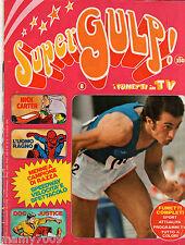 SUPERGULP i fumetti in TV=N°8 12/7/1978=FUMETTI=POSTER ARGENTINA=PIETRO MENNEA