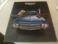 Amazing 1970 Chevrolet Caprice Sedan,Caprice Coupe,Impala Coupe Brochure