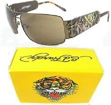 NWT ED HARDY SUNGLASSES EHS017 King Beasts Dog Cocoa BUY HERE FOR MUCH LESS