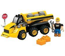 Mega Bloks 23pcs Building Construction Cat Articulated Dump Truck (7801) 2007
