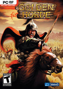 THE GOLDEN HORDE Battle Strategy PC Game NEW BOX Vista