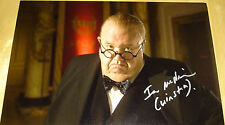 IAN McNEICE DR DOCTOR WHO HAND SIGNED 12X8 AUTOGRAPH PHOTO WINSTON CHURCHILL