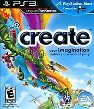 Create (Sony PlayStation 3) PS3 new sealed video game Move compatible