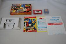 Rockman EXE 4 Tournament red sun w/box & chip Japan Game boy Advance megaman GBA