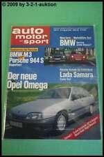 AMS Auto Motor Sport 17/86 Cadillac Allante BMW M3 Porsche 944 S DB 300E